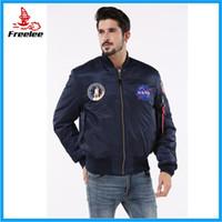 Wholesale Industry Shorts - Fall-Alpha industries NASA flying jacket,nomex flight jacket for men