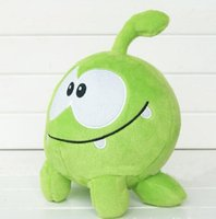 Wholesale Om Nom Plush Toy - Wholesale-New Arrival Plush toys cut the rope Om Nom cartoon stuffed and soft animal toys 20cm