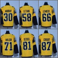 Wholesale Nylon 66 - #66 Mario Lemieux Jersey 2017 Stadium Series Men's 30 Matt Murray 58 Kris Letang 81 Phil Kessel 87 Sidney Crosby 71 Evgeni Malkin Jerseys