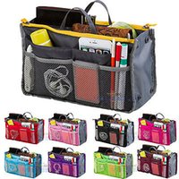 Wholesale Travelling Bags For Ladies - Handbags Bags For Women Handbag Large liner Lady Multifunction Makeup Cosmetic Bag Travel Case Toiletry Beauty Organizer Makeup Cosmetic Bag