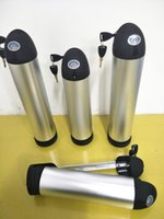 Wholesale China Free Shipping Eu Chargers - 48V 11Ah lithium electric bicyclebatterywith 2A charger and waterbottlesliver tube case in China with stock AU USA EU free tax shipping