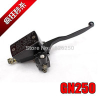Wholesale Brake Pump Front - NEW FREE SHIPPING Suzuki GN250 GS250 FRONT Brake Master Cylinder with Lever Brake pump