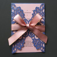 Wedding invitation cards maker nz buy new wedding invitation cards blue wedding invitation card with insert envelop large pink butterfly ribbon decorated wedding invitation card maker supply stopboris Choice Image