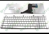 Wholesale Asus Notebook Keyboards - Genuine New Notebook Laptop keyboard FOR ASUS N55 N57 N55S N55SF N55SL N75 N75SF N75SL N75S N75Y Series Silver US version - MP-11A13US6920