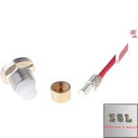 Wholesale Part Box Stainless - Guniene quaity Wooden box mod spare parts 510 Connector for Wooden Mod brass stainless steel