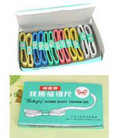 Wholesale Gift Measuring Tape - Wholesale Measuring & Gauging To Professio Tailoring Tape Measure Sewing Retractable Tape superior quality Tailoring Tape Tape Measures gift