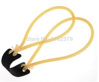Wholesale Slingshot Replacement Bands - 20pcs lot 3050 Rubber Band ELASTICA Bungee For Slingshot Outdoor Hunting Catapult Replacement Retail and Bulk-sale Wholesale
