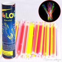 Multi Color Glow Stick Armband Ketten Neon Party LED Blinklicht Stick Stabneuheitspielzeug LED Vocal Concert Sticks LED-Blitz 3000 HOT10