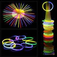 7,8''Multi Farbe Heißer Knicklicht Armband Halsketten Neon Party LED Blinklicht Stick Wand LED Vocal Konzert LED-Sticks