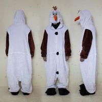 Wholesale Pooh Kigurumi Pajamas - frozen pooh jumpsuits Halloween Costume Wintercostumes for men Pooh Kigurumi Pajamas Animal Suits Cosplay Outfit Adult Animal Sleepwear