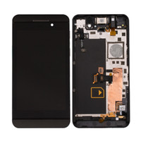 For Blackberry blackberry parts wholesale - OEM Blackberry Z10 G LCD Display Screen Touch Panel Digitizer With inside Frame Replacement Part g Version