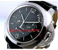 Wholesale Pam Power Reserve - Luxury Watches Stainless Steel Black Dial Power Reserve 1950 8Day 8 Day Pam 275 00275 Pam275 automatic Mens Men's Watch Watches