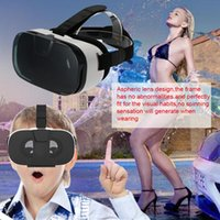 Wholesale 3d Video Headsets - VR Virtual Reality Headset 3D Glasses With AR Google Cardboard Movie Video Game Glasses for 4 to 6 inch Smartphone VR004-1