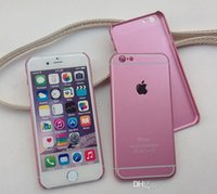 Pour l'iPhone 5 6 6s, plus Hard Case DHL gratuit ultra-mince de protection PC Housse Or rose Or Rose Bleu Gris