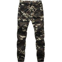 Wholesale Cargos For Cheap - Wholesale-Big size:M-5XL High quality cheap gym pants fashion casual Men trousers Camouflage cargo pants for men jogger pants
