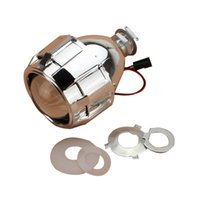 Wholesale Devil Hid - 2.5 inch Car Motor Bi-xenon For HID Projector Lens Angle DEVIL Halo Eye Headlight H7 H4