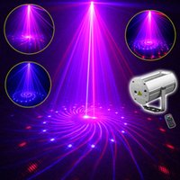 Wholesale Downlights Living Room - 2016 New SUNY 12 Patterns RB Mixed LED Professional DJ Light Party Culb Disco Bar Wedding Birthday Laser Projector Downlights Lighting