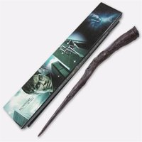 Wholesale 18 models Magic Wand Hermione Voldemort Dumbledore Magic Magical Wand Cosplay staves Wands With gift box BY DHL