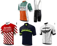 Wholesale 4xl Motorcycle Jersey - Wholesale-MORVELO team cycling jersey 2015 Maillot ciclismo, MOLTENI bike riding clothes, Motorcycle Cycling Clothing