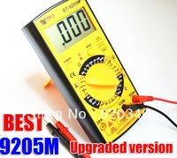Wholesale Lcd Screen Digital Multimeter - Free Shipping Upgraded version Wholesale BEST 9205M+ Handheld LCD Screen Digital Multimeter With buzzer order<$18no track