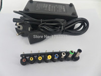 Wholesale Retail Packaging China - Wholesale Universal 96W Laptop Notebook AC Charger Power Adapter with EU UK AU US Plug with retail package 50pcs lot