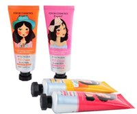 Wholesale Korean Bb - 2017 Music Flower Brand BB&CC Cream Korean Makeup Face Base Liquid Foundation Make Up Concealer Moisturizing Whitening Cosmetics 50ml