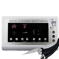 ultrasonografia ultra-sonografia face facial venda por atacado-3 in1 1.1 Mhz ultra-som ultrassom removedor de manchas de pele Toupeira Remoção Da Tatuagem Terapia Corporal dispositivo de rosto Spa instrumento de Massagem Máquina de Beleza