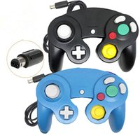 Wholesale Gamecube Consoles - NGC Wired Gaming Game Controller Gamepad Joystick for NGC Nintendo Console Gamecube Wii U Extension Cable Cord Turbo Dualshock