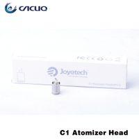 Wholesale Ego Ecab - 100% Joyetech C1 Head Replacement Coils for Atomizers Joyetech Eroll C Ecab Ego Ego c t Atomizer Coil DHL