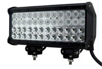 Wholesale 12 Inch Light Bar Truck - 12 INCH 144W CREE LED WORK LIGHT BAR SPOT FLOOD 4x4 OFFROAD UTE BOAT TRUCK 12 24V