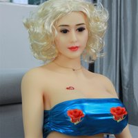 Wholesale New Real Sex Doll - 2017 NEW 165cm Top quality real silicone sex dolls big breast lifelike love doll oral vagina adult sexy doll for men