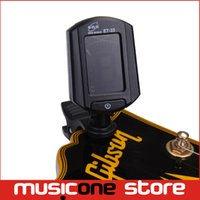 Wholesale Guitar Tuner Clip Eno - Eno ET-33 LCD Digital Guitar Tuners Metronome Black Mini Clip-on Guitar Accessories Adjustable View Angle Design High Quality Black MU0097