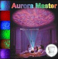 aurora hoparlör toptan satış-Kapalı Renkli Led Gece Işıkları Projektör Okyanus Daren Dalgalar Aurora Yenilik Ile Usta Projeksiyon Yenilik Aydınlatma C3263