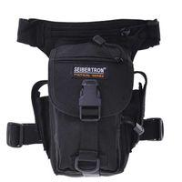 Wholesale Climbing Legs - Seibertron Outdoor MOLLE Tactical pockets leg bag 900D For camping travel climbing Brown Black