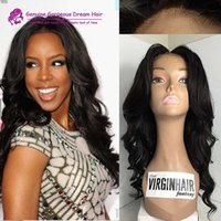 Wholesale Piano Tie - 130 Density Full Lace Wig Glueless Brazilian Full Lace Human Hair Wigs with Baby Hair for Black Woman Thick and Soft Wig