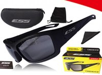 Wholesale Ballistic Glasses Military - Hot Sale ESS CREDENCE Ballistic Sunglasses Military Eyewear Tactical Shooting Glasses Polarized Not Ess Crossbow ICE