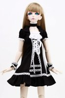 Atacado [wamami] 129 # Black Dress / Terno / Outfit 1/3 SD DOD DZ BJD dollfie