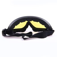 Gros-2015 New Mototourisme Goggles Outdoor Sports Windproof Ski Snowboard Lunettes Motocross Off-Road Dirt Bike Racing Eyewear