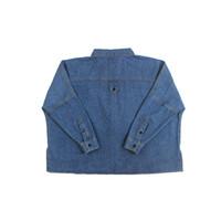chaquetas de vaquero al por mayor-Vaquero Mujer Chaquetas Jean Color Azul 2017 Primavera Invierno Abrigos de Moda Señoras Outwear Tops Turn Down Collar Denim Mujer Ropa