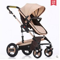 Wholesale White Carriage Frame - Poussette pliante portable Folding Baby Umbrella Stroller Baby Car Kid Carriage Kid By Baby Pram Style,White Frame pushchair