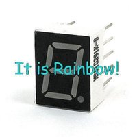 Großhandels-2mm Pin Pitch 1 Digit Common Anode Rote LED digitalen Rohr-Display