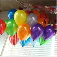 Wholesale Latex G - The new 1.2 g pearl round balloons latex balloons 10 inch on the 6th wedding party decoration wholesale balloons