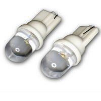 Wholesale Dome Antenna - GPS 2pcs T10 194 W5W 1 LED Pure White Dome Instrument Car Light Bulb Lamp High Quality Car Interior Lights