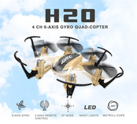 Wholesale Mini Hexacopter - Mini JJRC H20 Nano modo Headless Hexacopter RC Quadcopter 2.4 G 4CH 6 Axis 1 chave voltar RTF VS CX-10 H8 Mini Drone brinquedos 010137