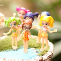 Wholesale artificial mini Bikini girls Ornaments fairy garden miniatures toys gnome moss terrarium decor resin crafts bonsai home decor for DIY Zakka