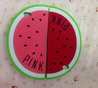 Watermelon Shape Design Étui souple en silicone pour iPhone 4 pour iPhone 6