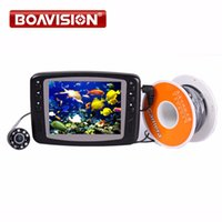 Wholesale Tft Finder - Video Underwater Fishing Camera System 8 IR White LEDs 15M HD 600TVL Fish Camera With Portable 3.5 inch TFT LCD Fish Finder