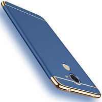Wholesale Case V9 - Huawei Honor 6C 6 C Pro Phone Hard Case For Huawei Honor 6c Pro   V9 Play Back Cover Gold plated Protective Shell Fundas