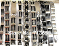 Wholesale Stainless Steel Bracelet Wholesale - 10X Design Mixed Quality Men's Fashion Stainless Steel Bracelets Wholesale Jewelry lots