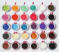 светящиеся блестящие тени для век оптовых-High Quality high-Light Eyeshadow  20 Colors Glitter Eyeshadow ( Eye shadow, lip gloss ,blush,